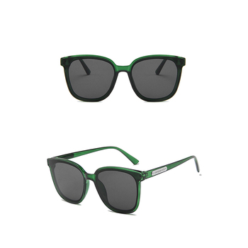New Trend Fashion Elegant Flat Top Sunglasses Mens With Pc Frame