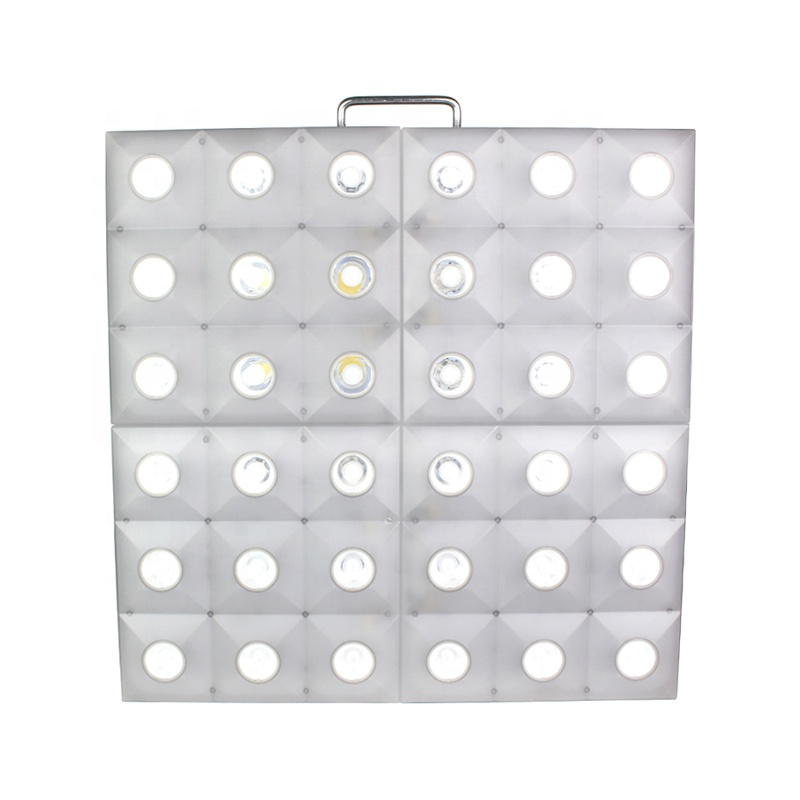 Stage Lighting 36*3W Matrix Light Warm White <strong>Point</strong> Control Effect 216 Full Color RGB Wash Light Source With DMX512