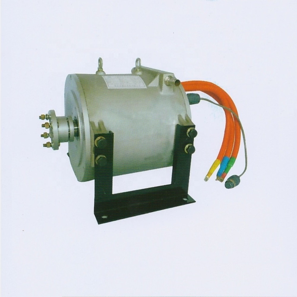 50KW electric AC motors PMSM synchronous motor with controller for electric vehicle
