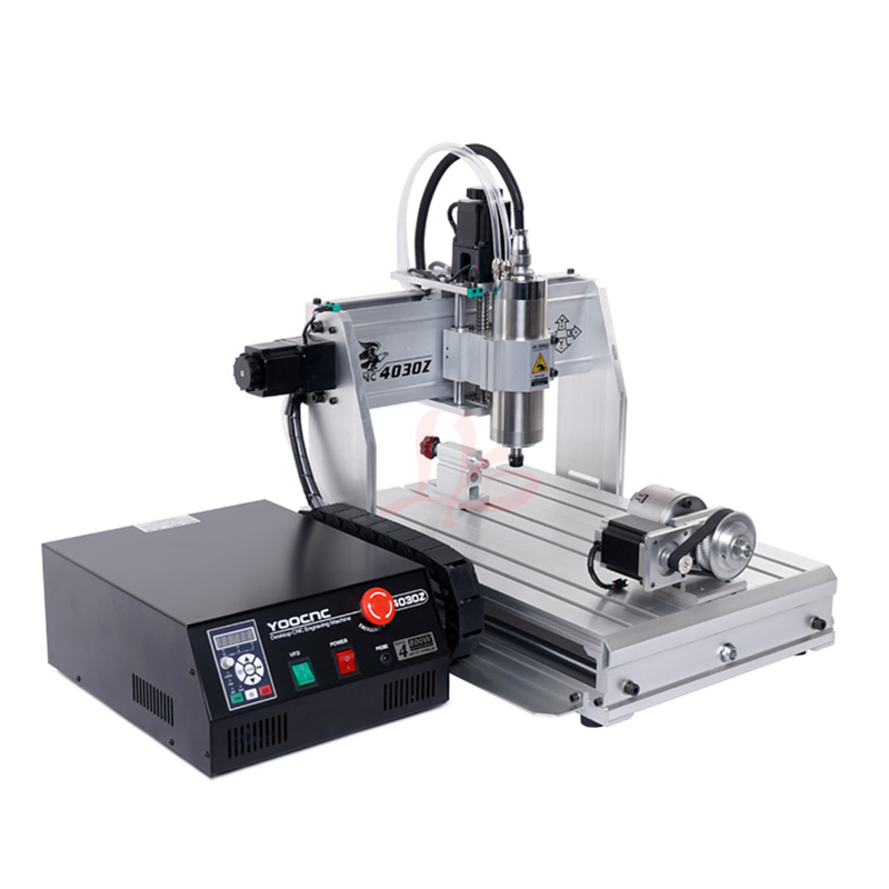 cnc engraving machine cnc router 3040 <strong>3</strong> axis 4axis drilling router with 800w 1.5kw spindle <strong>motor</strong>