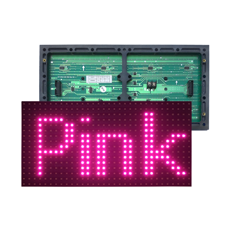 <strong>led</strong> display advertising screen <strong>p10</strong> door head semi-outdoor pink billboard indoor scrolling word electronic screen finished <strong>module</strong>