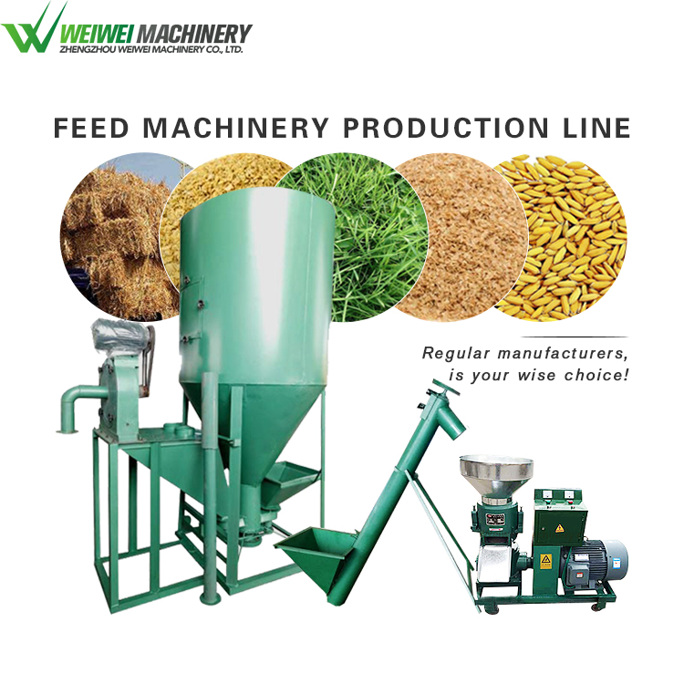 Weiwei machine high grade animals feed production line