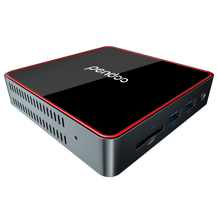 fire hot selling now pendoo ck2 intel fanless Cherry trail smart computer mini pc z8350