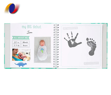 Wholesale Price High Quality Wire Binding First Year Baby Memory <strong>Books</strong>