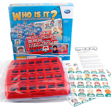 Children's puzzle toys guess characters who he is guess who I am who logical reasoning desktop <strong>game</strong>
