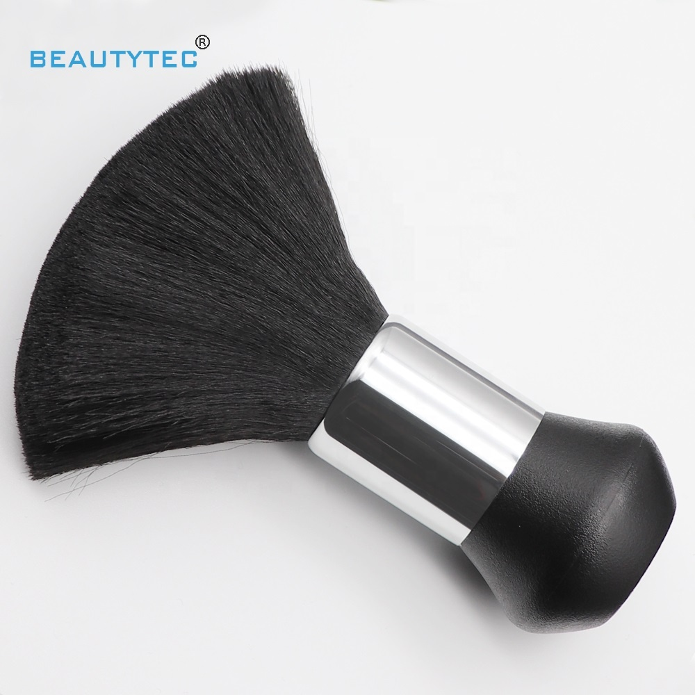 Beauty High Quality Black Cosmetic Hairdressing Neck Brush For Barbershop Hair Cut