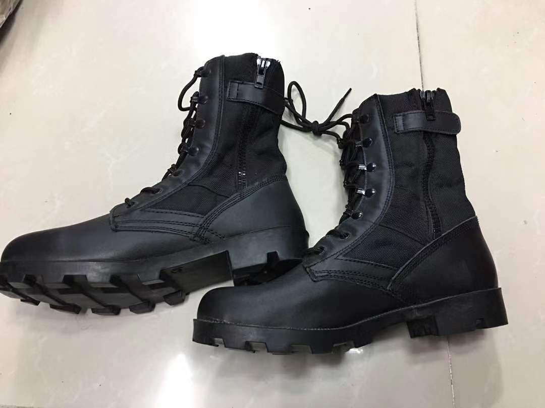 military tactical combat boots of panama sole outdoor Camping climbing boots Rubber