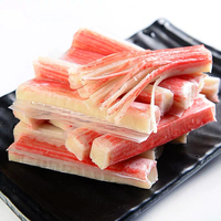 Seafood high quality frozen surimi crab stick meat with low price