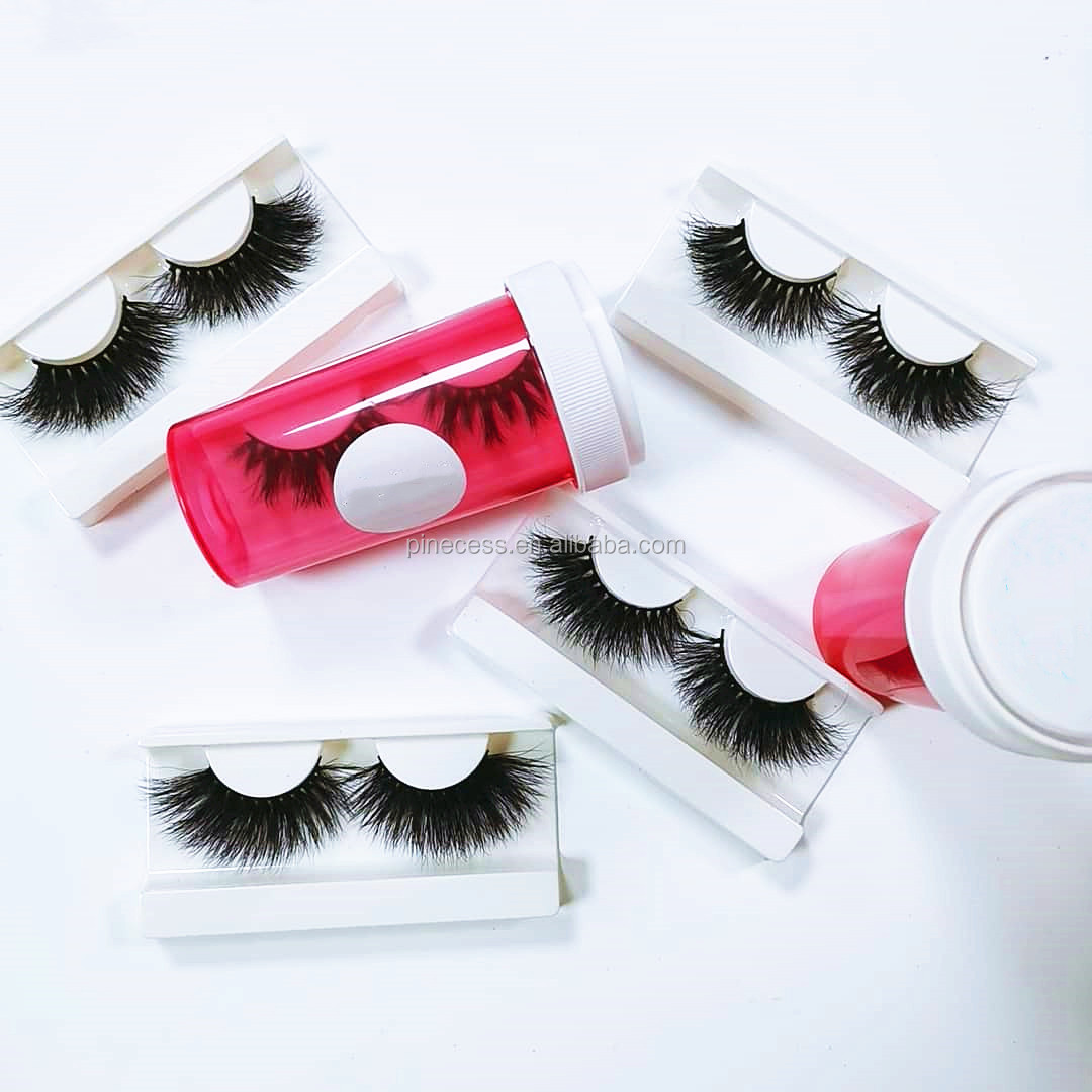 3D Mink Eyelashes With Custom eyelash packaging Private Label Siberian Mink False Lashes Eyelashes Strips <strong>D120</strong>