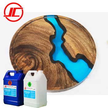 Wholesale Epoxy Resin Clear Liquid Crystal For Wood Casting Resin Fast Cured Two Part Epoxy Resin