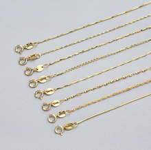 wholesale manufacturer factory price variety style rose gold plated gold plated 925 sterling silver chain
