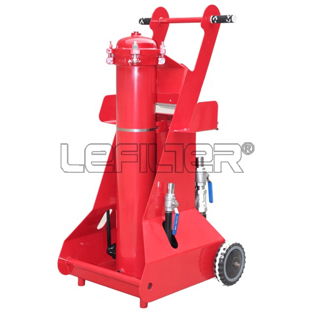 Middle type oil filter pushcart / oil filter machine FCM60 for industrial oil <strong>filtration</strong>