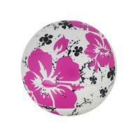 Colorful volleyball beach ball with bright color for summer