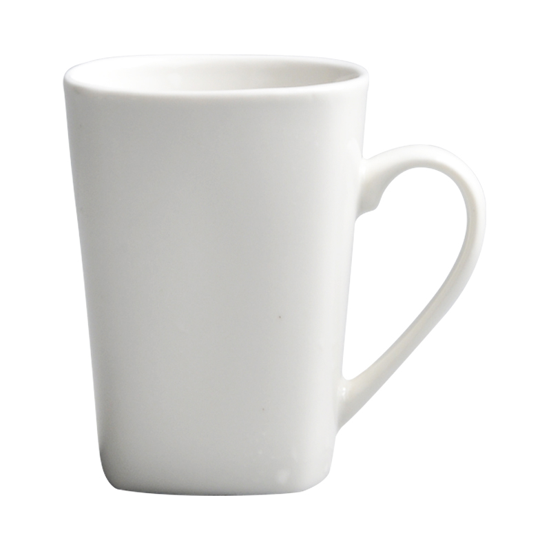Wholesale plain white ceramic mug coffee mugs custom <strong>logo</strong>