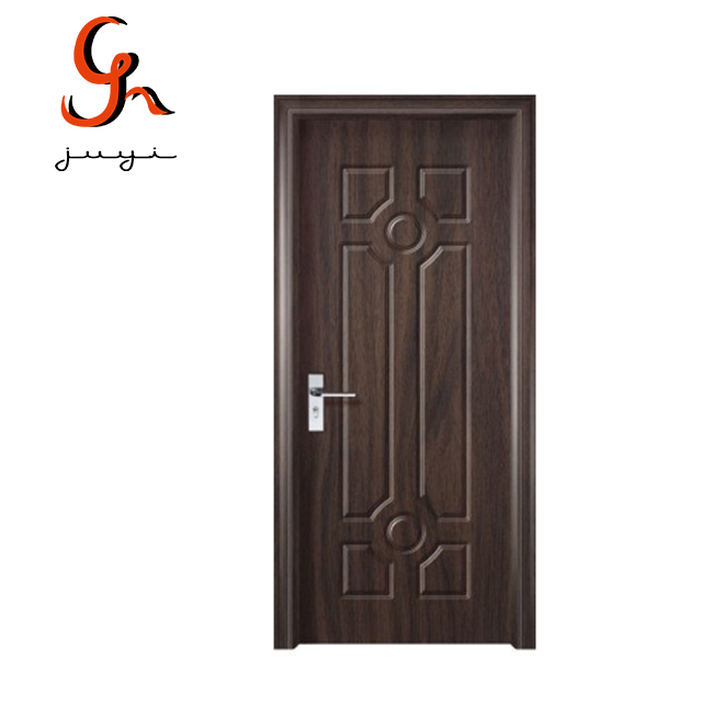 Customized Retro Exterior Position MDF Board Infilling PVC Door