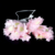 Festivals Decorations Lamps Flower Embedded Lamp Indoor Outdoor Beautiful Petal Lamp String