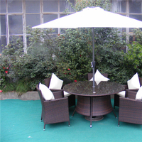 patio furniture rattan wicker material HANSDM016