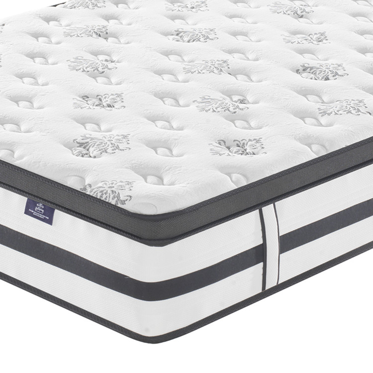 CIFF Guangzhou Hot Sale Queen size Carton Package Car Delivery Independent Spring High Quality Rolling Mattress ZH-03 - Jozy Mattress | Jozy.net