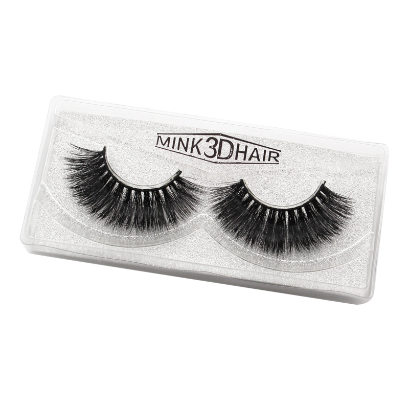 Chinese Eyelash Factory Wholesale Supplier provide 3D mink lashes free sample full strip mink eyelash <strong>H02</strong>
