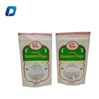 Customized and printed zipper plastic dried fruit packing bag with your own logo