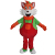 Custom adult size animal fox animal mascot costumes for sale