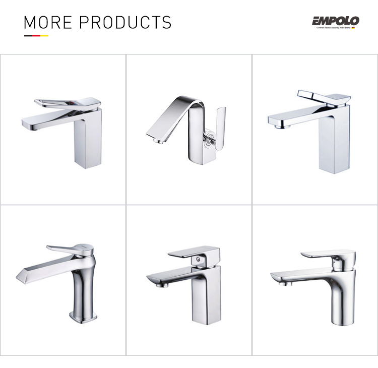 Homedec New Arrivals Advanced Brass Wall mounted Basin Mixer Faucet