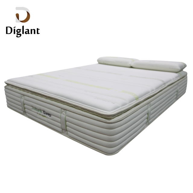 DM45 Diglant Latest Double King Size Fabric Foldable Gel Single Bed Natural cheap Memory Latex queen mattress - Jozy Mattress | Jozy.net