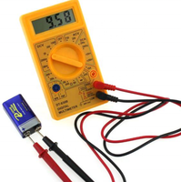 DT-830B digital multimeterr,Digital display voltmeter, resistance meter