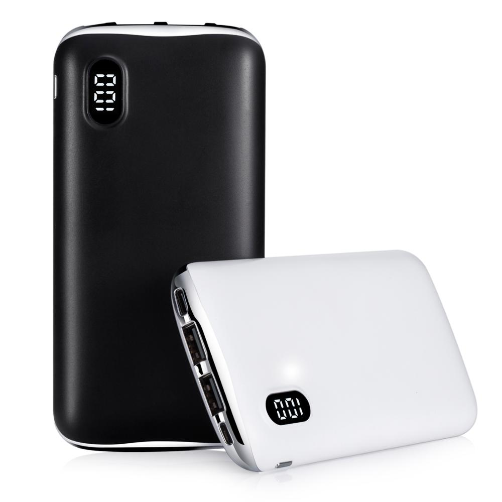 new Alibaba top sals <strong>X100</strong> 1000mah quick charge portable power Banks dual USB &amp; type C PD smart power bank