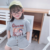 Wholesale lovely casual kids clothes set for girls fashion little girls  summer children clothing