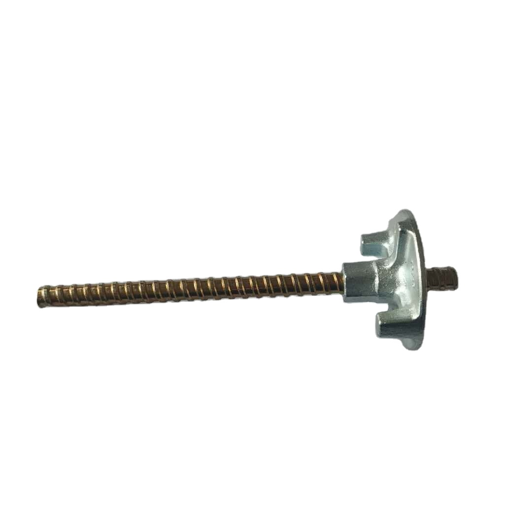 Customizable Tie Rod Use in Formwork or with Wing Nut