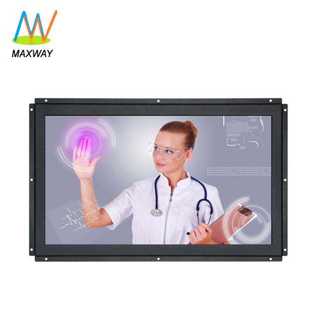 Capacitive/Resistive 22 Inch <strong>1000</strong>:1 Touch Screen Lcd Monitor Kiosk With Usb Vga Rs232