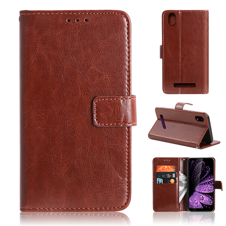 For Leagoo <strong>Z10</strong> Ultra Thin Phone Housing Protective <strong>Case</strong> PU <strong>Leather</strong> Cellphone Wallet mobile phone accessories