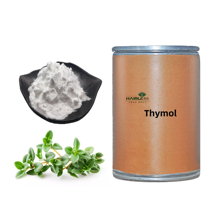 Natural thyme extract thymol <strong>powder</strong> at competitive price