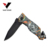 Best selling OEM 3D Print Aluminum Handle Outdoor EDC Pocket Camping Folding Knife