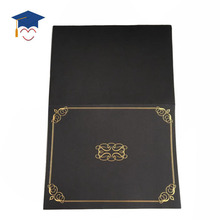 New diploma holder leather paper graduation certificate holder/diploma holder