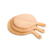 Factory Price 13 Inch Large Durable Custom Logo Round Wood Pizza Serving Board For Hotel