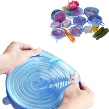 OEM/ODM Wholesale BPA Free Food Grade Covers Durable Reusable LFGB Silicone Stretch Lids
