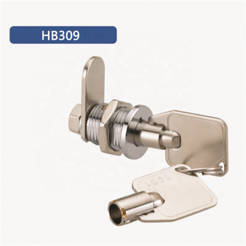High security tubular key lock with master key 12mm with at most 100 different keys combination