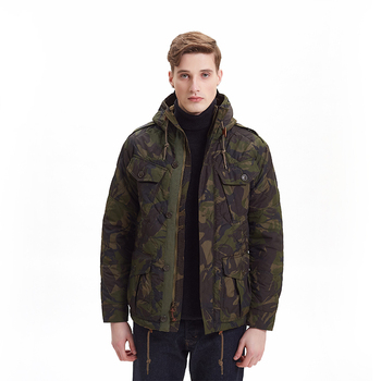 Casual Mens Camouflage Army Tactical Jacket Waterproof Jacket Winter Puffer Jacket