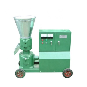 Small scale mobile complete duck cattle chicken cow pet animal poultry food feed flat die pellet mill machine plant bangladesh