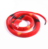Halloween Prank Prop High Simulation Rubber Snake Toy Jokes Toys Animals Model Funny Scary Snake decoration halloween