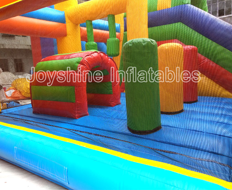 Inflatable Clown Bounce House Jumper Bouncy Slide Combo Jumping Bouncer Jump Bouncy Castle Clown Inflatable Castles For Kids