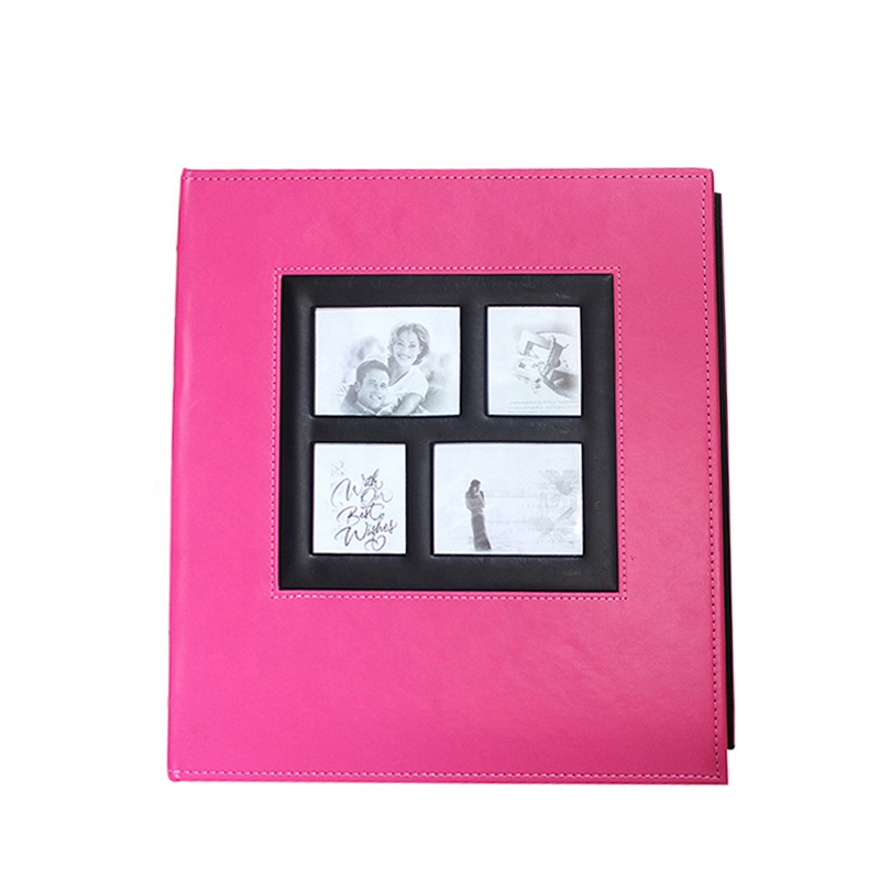 Faux Leather 4x6 Photo Albums