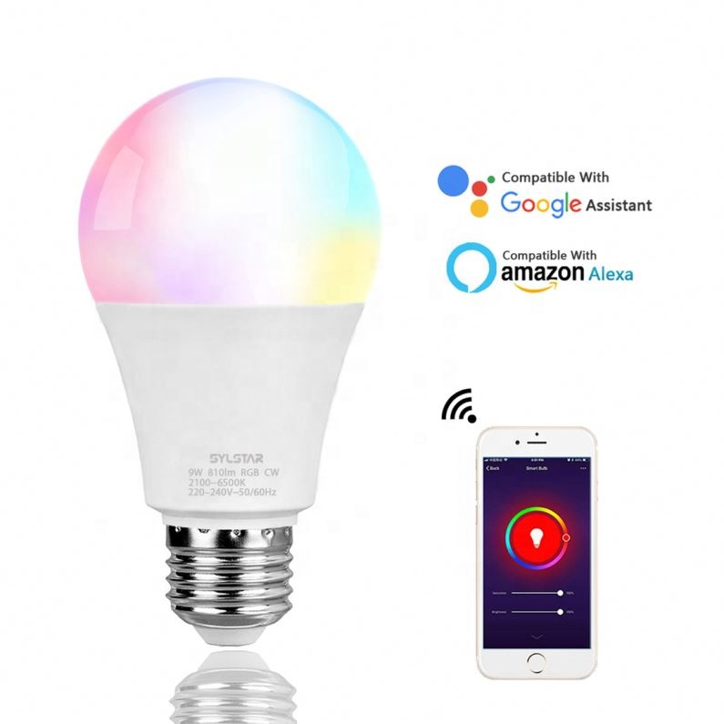 New design smart bulb 9W Dimmable e27 <strong>led</strong> for home
