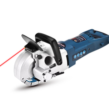 Rated Input Power 3000W Max Cutting Width 36mm Handheld Electric Tool Wall Chaser Groove Machine