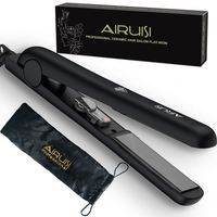 AIRUISI hair art flat iron vs chi,voice prompt function hair flat iron and hair straightener
