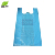 OEM high quality biodegradable plastic packing vest t-shirt bag cheap price
