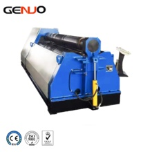 GENUO W12NC series 4 <strong>rolls</strong> roller aluminium sheet metal rolling <strong>machine</strong>, <strong>roll</strong> bender