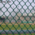 4ft 50x50mm Residential privacy green pvc coated Chain Link Fence  galvanized wire mesh panel